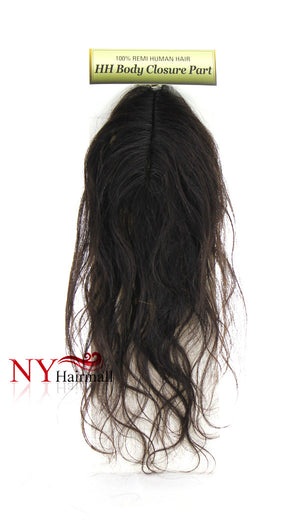 It's a Wig 100% Brazilian Human Hair Body Closure Part