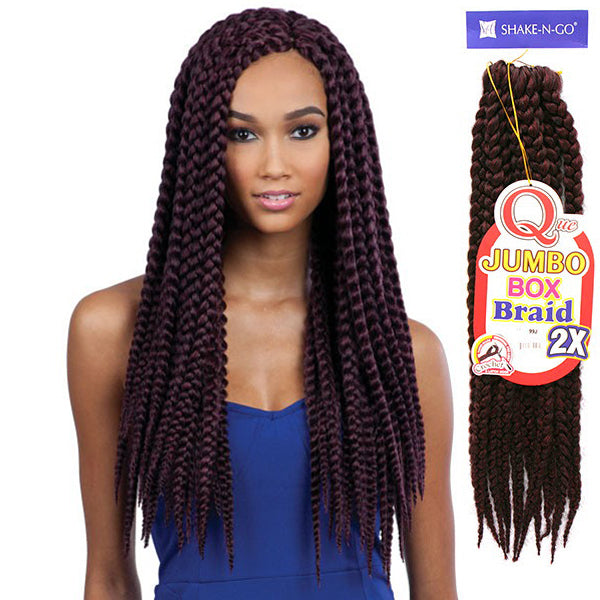 Milkyway Que Crochet Braiding Hair - 2X JUMBO BOX BRAID