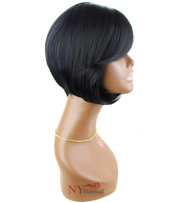 Beautician Friends Halo Coarse Hair Remi Quality Wig - Brooke