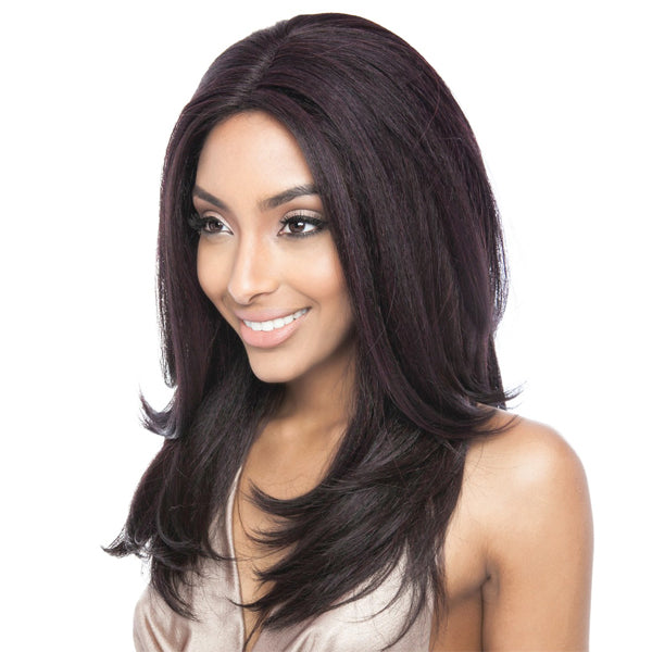 ISIS Brown Sugar Human Hair Blend Soft Swiss Lace Front Wig - BS223