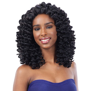 Freetress Equal Wand Curl Collection Synthetic Lace Wig - Bubble Wand