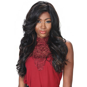 Zury Hollywood Sis PRIME Human Mix 4X4 Swiss Lace Front Wig - PM-FP LACE CHERRY