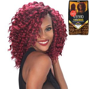 Zury Hollywood NaturaliStar V8910 Crochet Braiding Hair - DEEP TWIST