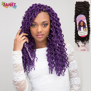 Janet Collection Braid - 4X Mambo COILY DENSE LOCS 18""