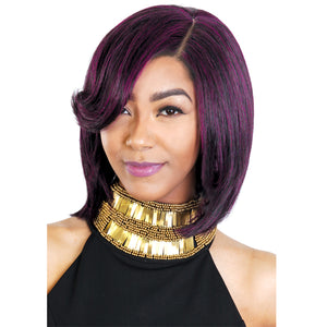 Zury Hollywood Sis 100% Human Hair Pre-Tweezed Part Wig - HR-A LINE DEX
