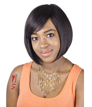 Junee Fashion Manhattan Style Human Blend Full Wig - H Dori