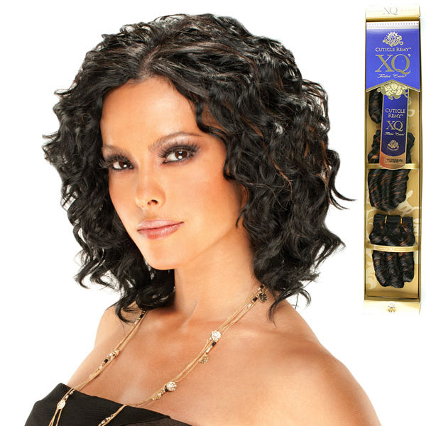 XQ Remy Short Cut Envy Twist Remy 3pcs