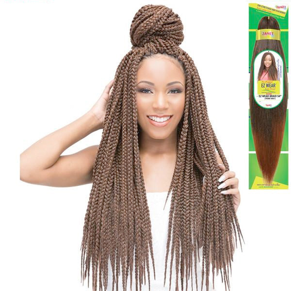 Janet Collection 100% Optimum Afrelle Perm Yaky Braid - EZ WEAR BRAID 54""