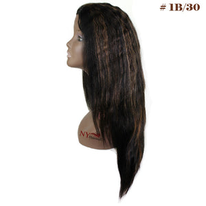 JK Trading Classy IRIS Virgin Remy Human Full Lace Wet & Wavy Wig  - Faith 24""