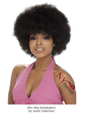 Janet Collection Premium Synthetic Fiber Afro Wig