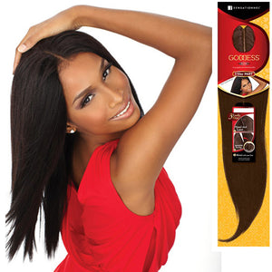 SENSATIONNEL GODDESS REMI 3 WAY PART YAKI CLOSURE