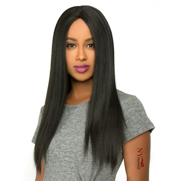 The Wig Brazilian Human Hair Blend Invisible Deep Part Lace Front Wig - LH - GIGI