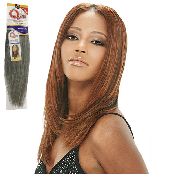 Que By Milkyway 100 Human Hair Grey Yaky Weave Newyorkhairmall