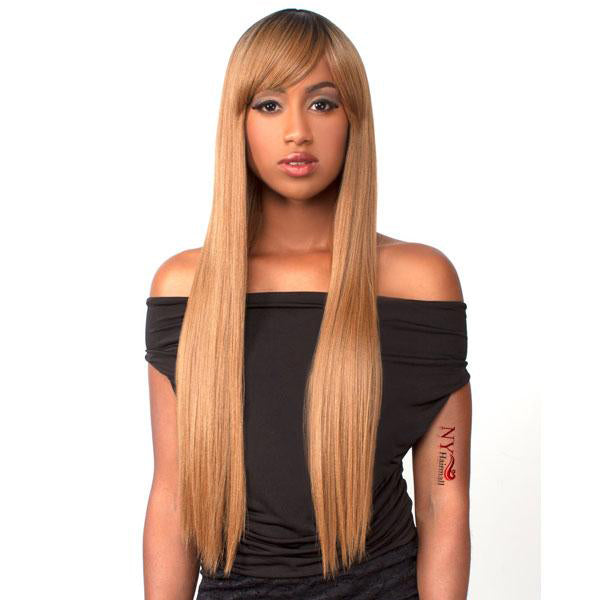 The Wig Human Hair Blend Full Wig - HH Love