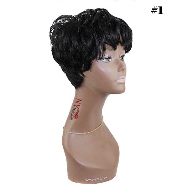 SoulTress 100% Human Hair Full Wig - Ida