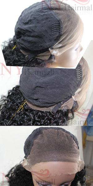 WannaBe 100% Indian Remy Human Hair Full Lace Wig FH-Bohemian