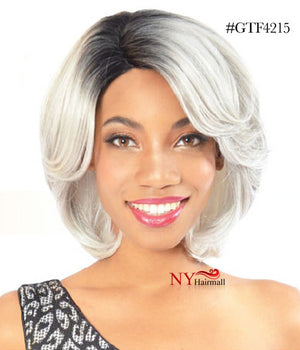 Fashion Source High Heat Fiber Wig - HT Ivory