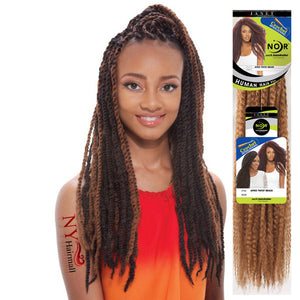 Janet Collection Noir Afro Twist Braid