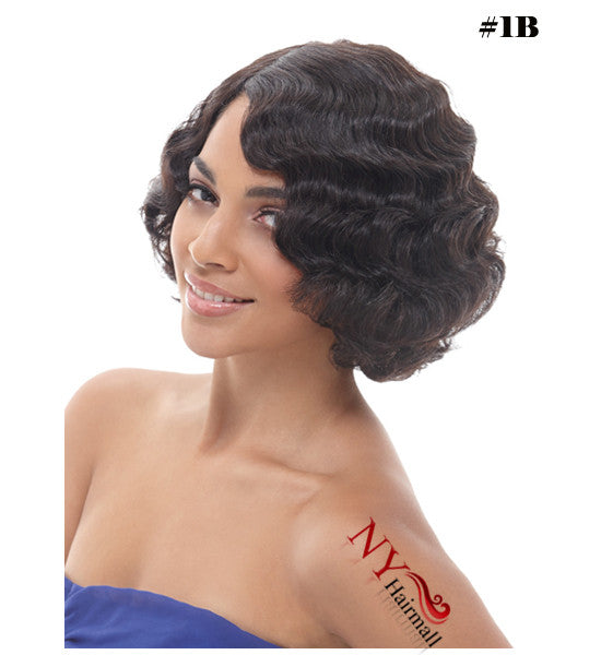 Janet Collection 100% Remy Human Hair Wig - Ruby