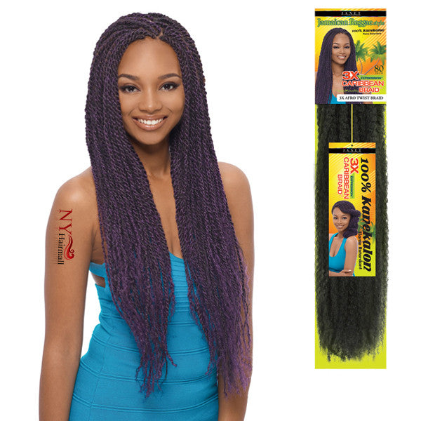 JANET COLLECTION 3X EXPRESSION - CARIBBEAN BRAID 80""