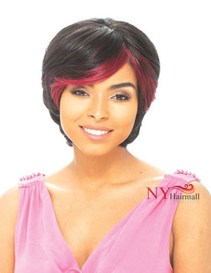 Janet Collection 100% Human Hair Highlight Weave - HOT POP 6-8""