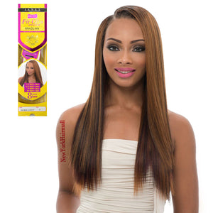 Janet Collection Remy Clip in  Brazilian Magic Yaky Fit-Clip 8pcs 10""