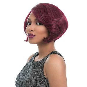 Sensationnel Empress Natural Curved Part Lace Front Edge Wig - JAZ