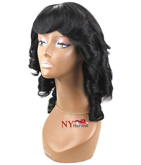 Junee Fashion Manhattan Style Wig - Roll