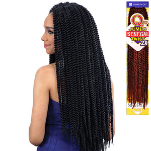 Milkyway Que Jumbo Senegal Twist 2X Braiding Hair (Havana Mambo Style)