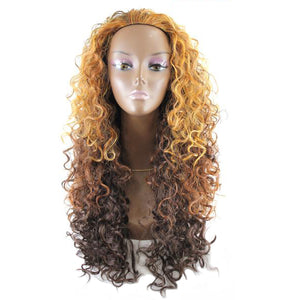 Vanessa Express Half Wig Synthetic Hair - Las Lobet