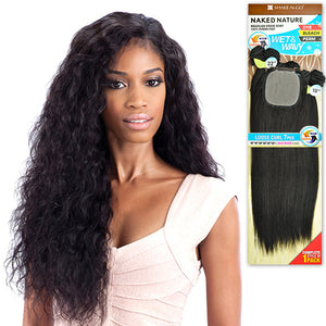 Naked Nature 100% Unprocessed Brazilian Virgin Remi Hair Wet & Wavy - Loose Curl 7PCS