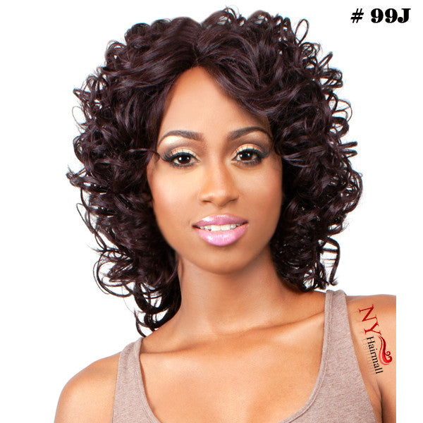 The Wig Human Hair Blend Lace Front Wig - LH MaMa