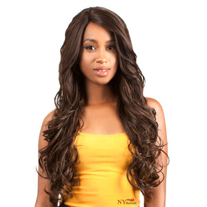 The Wig Human Hair Blend Lace Front Wig - LH Maxim