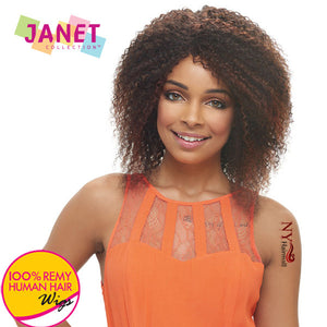 Janet Collection Remy Human Hair Wig - Miranda