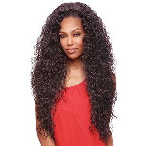 Vanessa Express Synthetic Half Wig - Las Mogan
