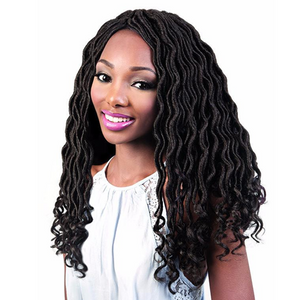 Motown Tress Angels Braid Collection Pre-looped Braid - 3X Goddess Locs 18""