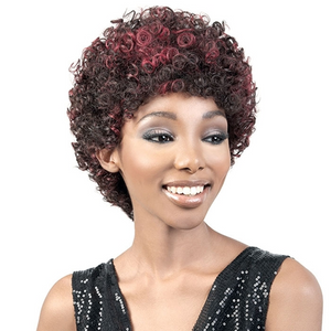 Motown Tress 100% Remy Human Hair Full Wig - HR. DEE