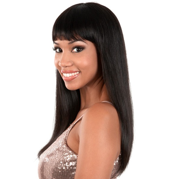 "Motown Tress 100% Indian Remy Wig Long Page OL18"" HIR - Petra"