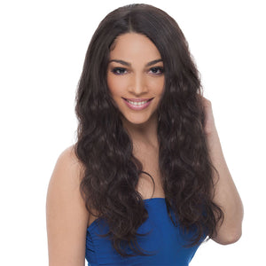 Janet Collection 100% Virgin Remy Hair Lace Front Wig - 360 LACE NATURAL WIG 26""