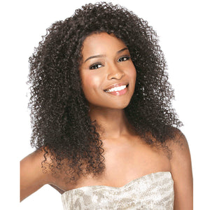 Sensationnel Brazilian Remi Bare & Natural L Part Lace Front Wig - NATURAL BOHEMIAN