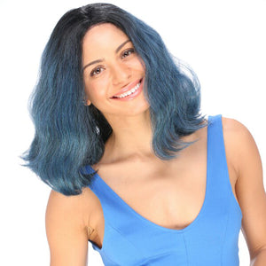 It Tress Blue Swiss Lace Front Wig - BL 703