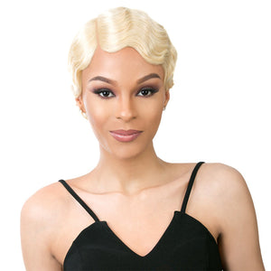 It's a Wig 100% Human Lace Front Wig - LACE HH FINGER ROLL