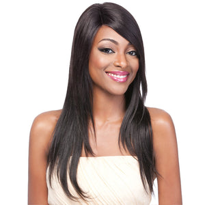 It's a Wig Brazilian Human Hair Part Lace Wig - Straight Bundle 24""