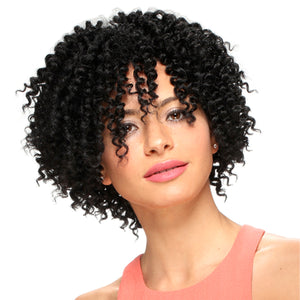 It tress Pink Soft Lace Front Crochet Wig - PL 505