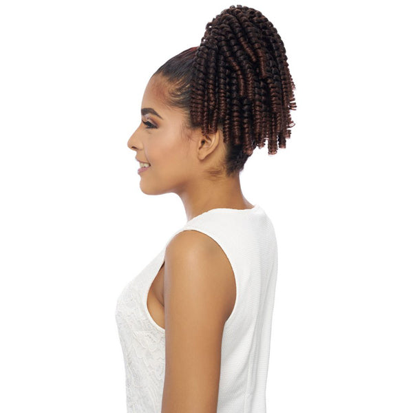 Harlem 125 Samba Kima Kalon Synthetic Drawstring Ponytail - SAMBA 158