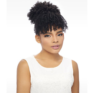 Harlem 125 Samba Bang Synthetic Drawstring Ponytail - SB101