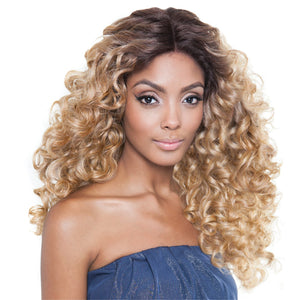 ISIS Brown Sugar Human Hair Blend Seamless Lace Front Wig - BS505 VIENNA