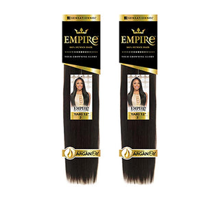 Sensationnel EMPIRE 100% Human Hair Weave - YAKI 12INCH