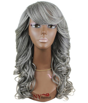 Junee Fashion Synthetic Full Wig - Ocean