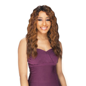 Freetress Equal Synthetic Lace Front Deep Invisible Part Wig - Milly